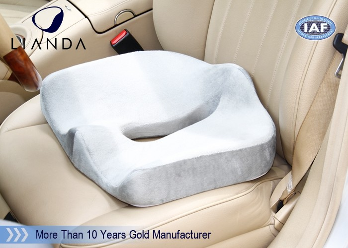 Adult Car Booster Seat Memory Foam Coccyx Cushion Universal Size