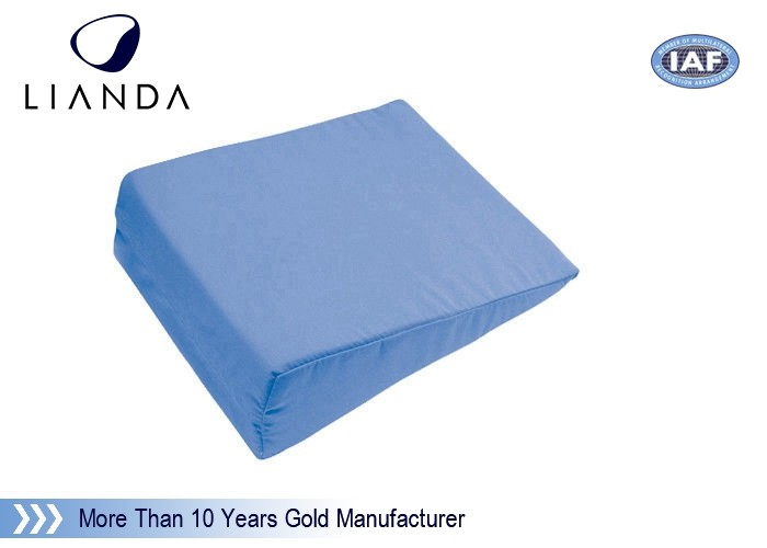 High Resilience Foam And Memory Foam Pillow , Two Layers Wedge Pillow