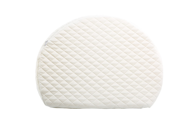 Baby Crib Wedge Foam Newborn Cradle Sleeping Pillow With Bamboo Cover