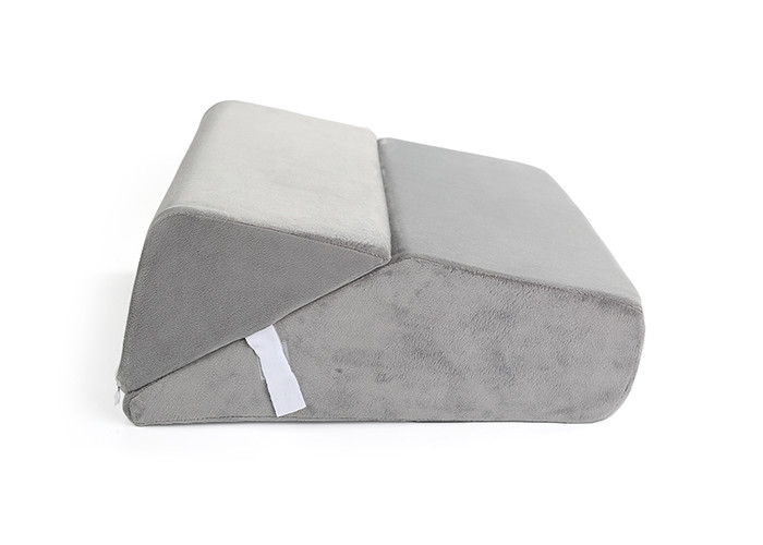 Jacquard Eco - Friendly Foam Wedge Pillow For Sleeping Breathable Relax