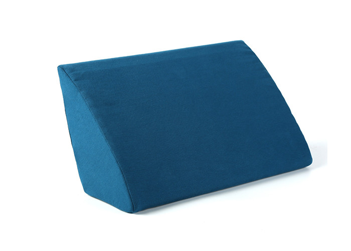 Sitting Posture Corrector Foam Wedge Pillow Body Rest Blue For Bedding