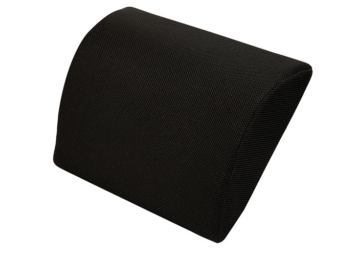 Super Thin Memory Foam Back Cushion Mesh Fabric Outer Cover Lower Back Pain