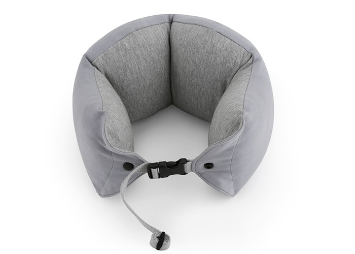 Bionic Design Travel Neck Pillow Comfortable Pea Pod Shape CE Certificated